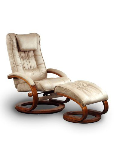 mac motion chairs model 2 piece recliner with matching ottoman mocha