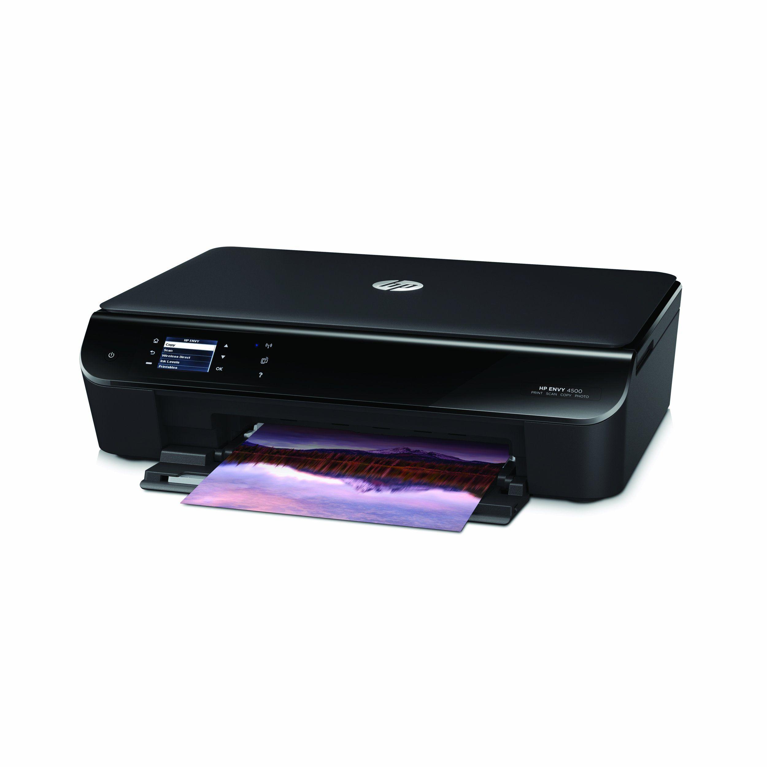 Amazon.com: HP Envy 4500 Wireless Color Photo Printer With