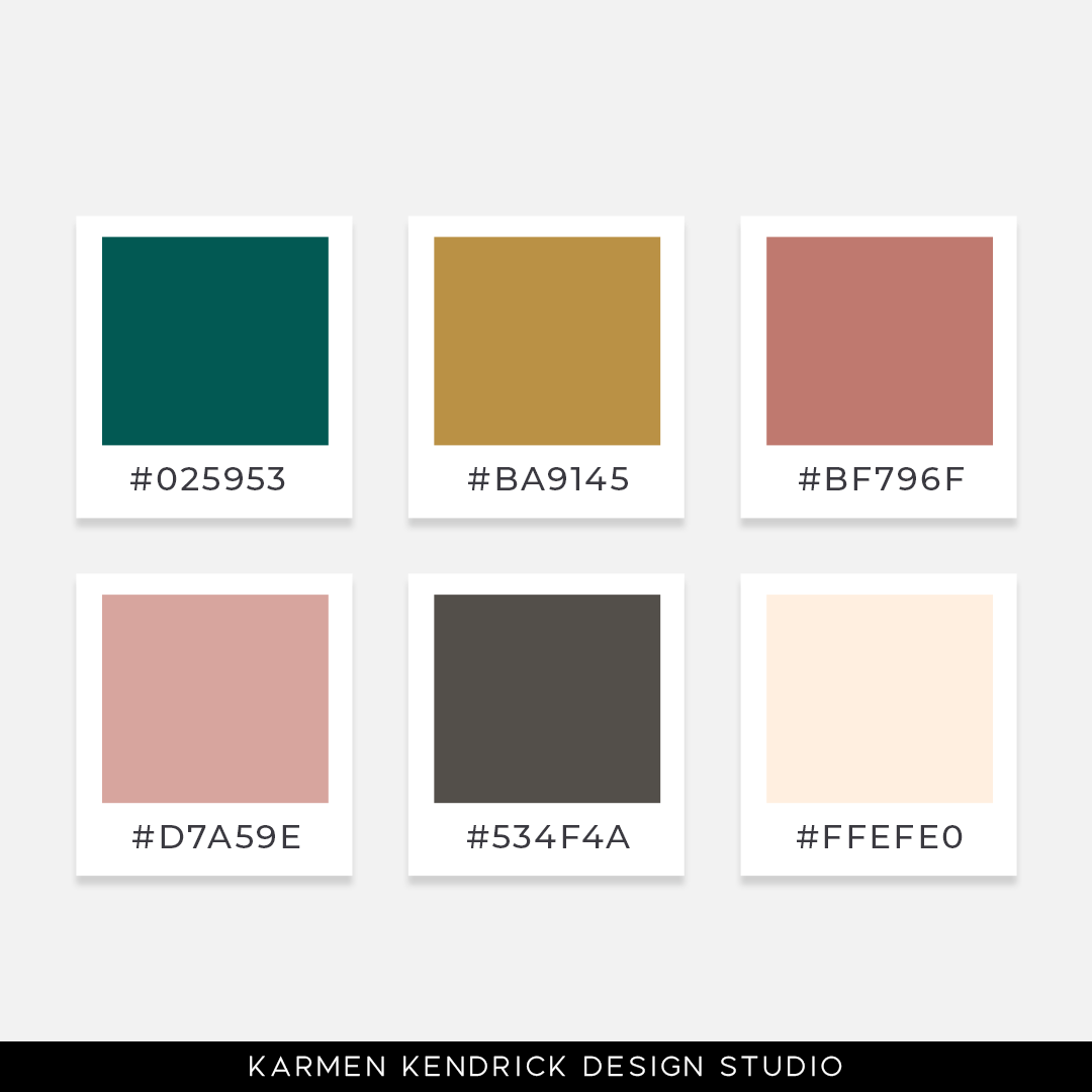 52 Weeks of Color Palette Inspo Logo color inspiration