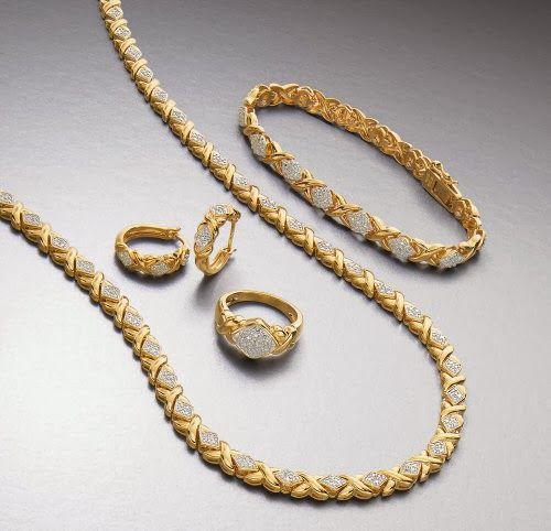 اطقم ذهب ناعمة 2014 Gold Necklace Gold Necklace