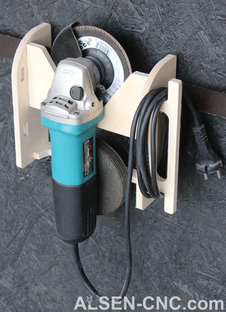 Photo of Winkelschleiferhalter 150 kompakt #toolstorage Winkelschleiferhalter 150 kompakt