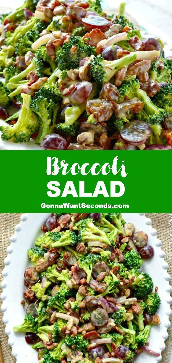 Photo of Easy Broccoli Salad Recipe