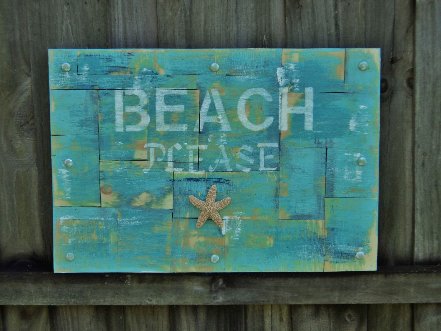 Beach please wooden sign beach house decor wall art wall hanging