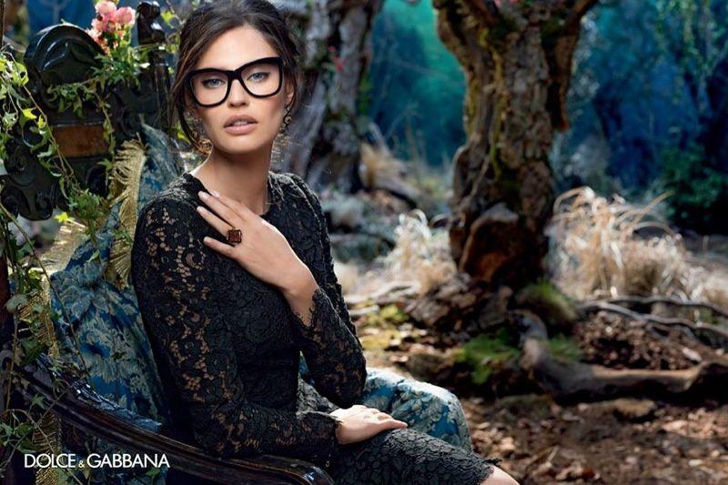 fef8ce50be7d dolce gabbana 2014 fall eyewear campaign3 Bianca Balti is Back for Dolce &  Gabbanas Fall 2014 Eyewear Campaign