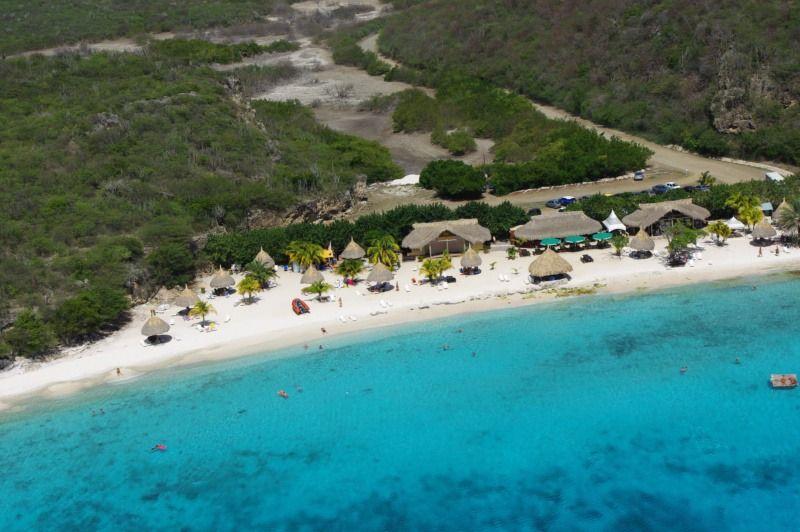 Playa Porto Marie Is A Beach On The Caribbean Island Of Curaçao, Located  Near The