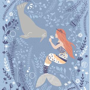 Hawthorne Threads - Calypso - Calypso Panel in Poseidon