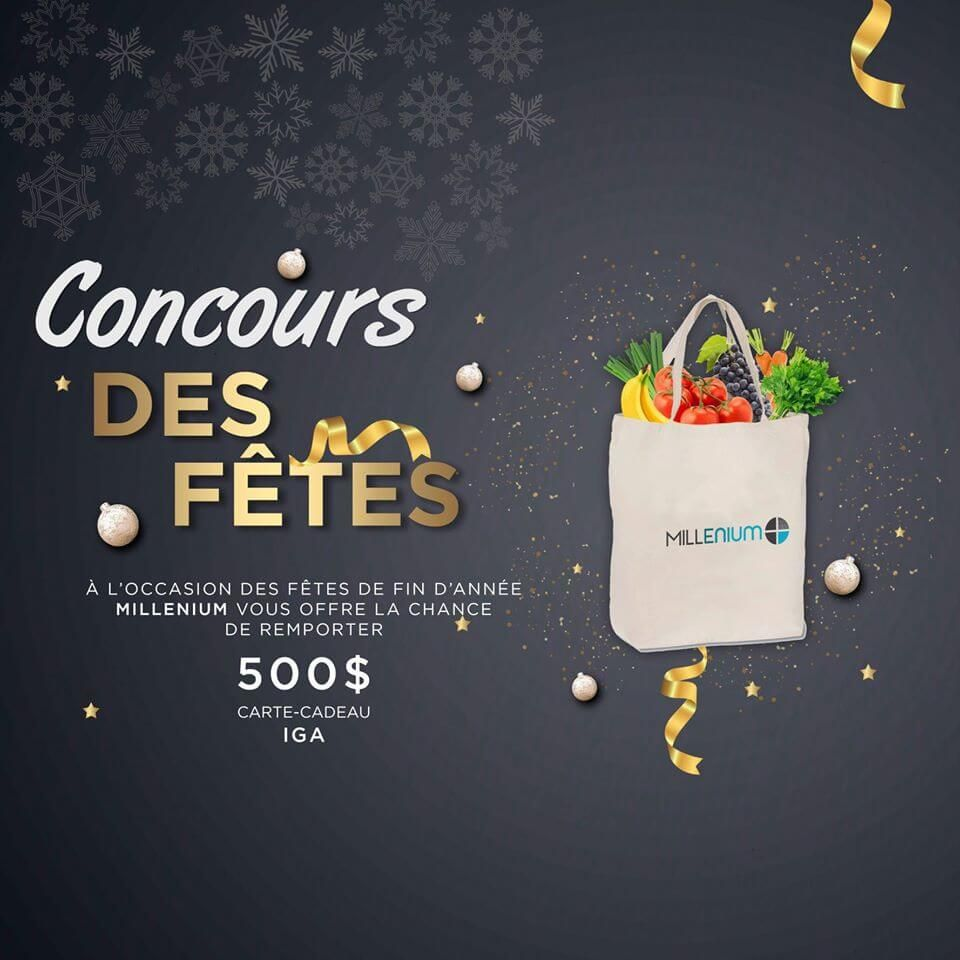 Gagnez Une Carte Cadeau Iga Vive La Bouffe D Une Valeur De 500