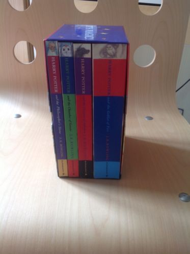 J k rowling - #harry potter books 1-4 in box set - #excellent pb #paperback 1 2 3,  View more on the LINK: http://www.zeppy.io/product/gb/2/351746235816/
