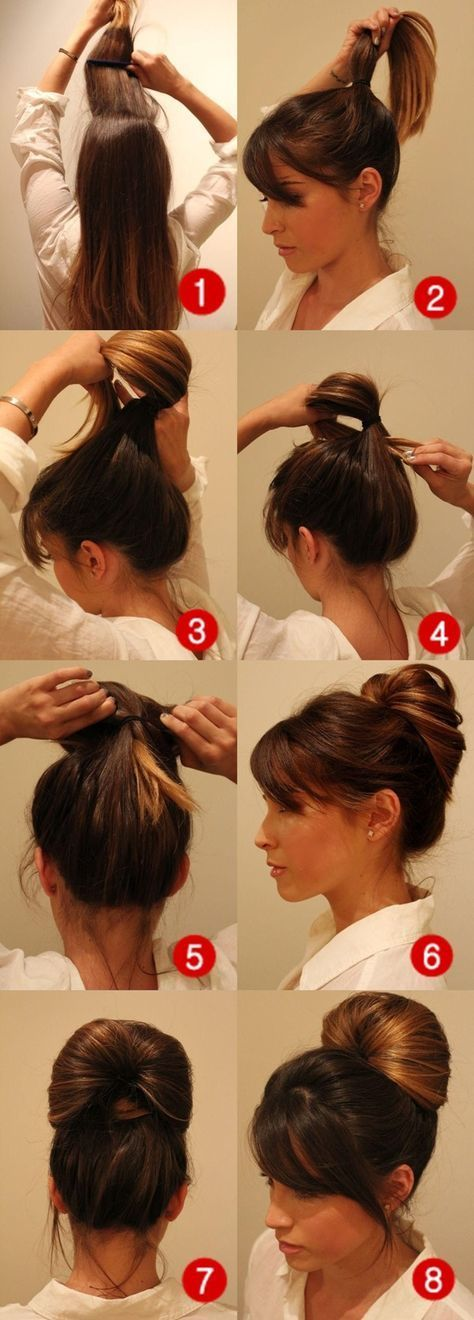 10 Hairstyles You Can Make In Less Than 2 Mins Hair Style Easy