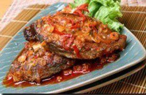 Resep Cara Membuat Ikan Tengiri Masak Tomat Enak - Hari hari akan lebih bertenaga jika kita