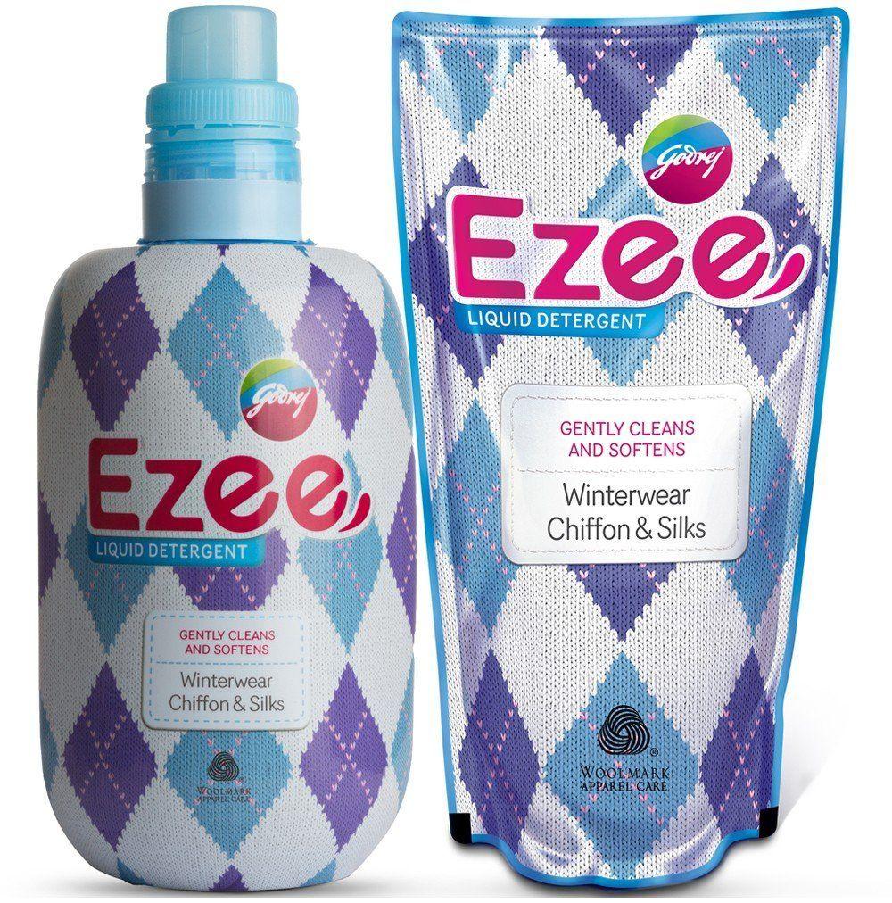 Godrej Ezee Liquid Detergent - 1kg bottle + 1kg refill - The biggest ...