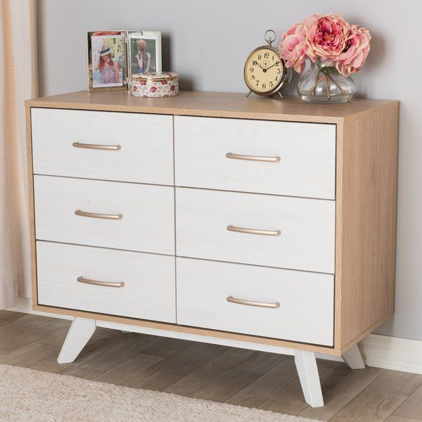 Best You Ll Love The Vizcaino Mid Century Wood 6 Drawer Double 400 x 300