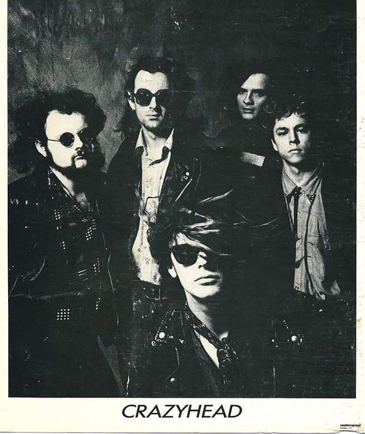 Crazyhead 1987. #Crazyhead #swampdelta #gayebykersonacid