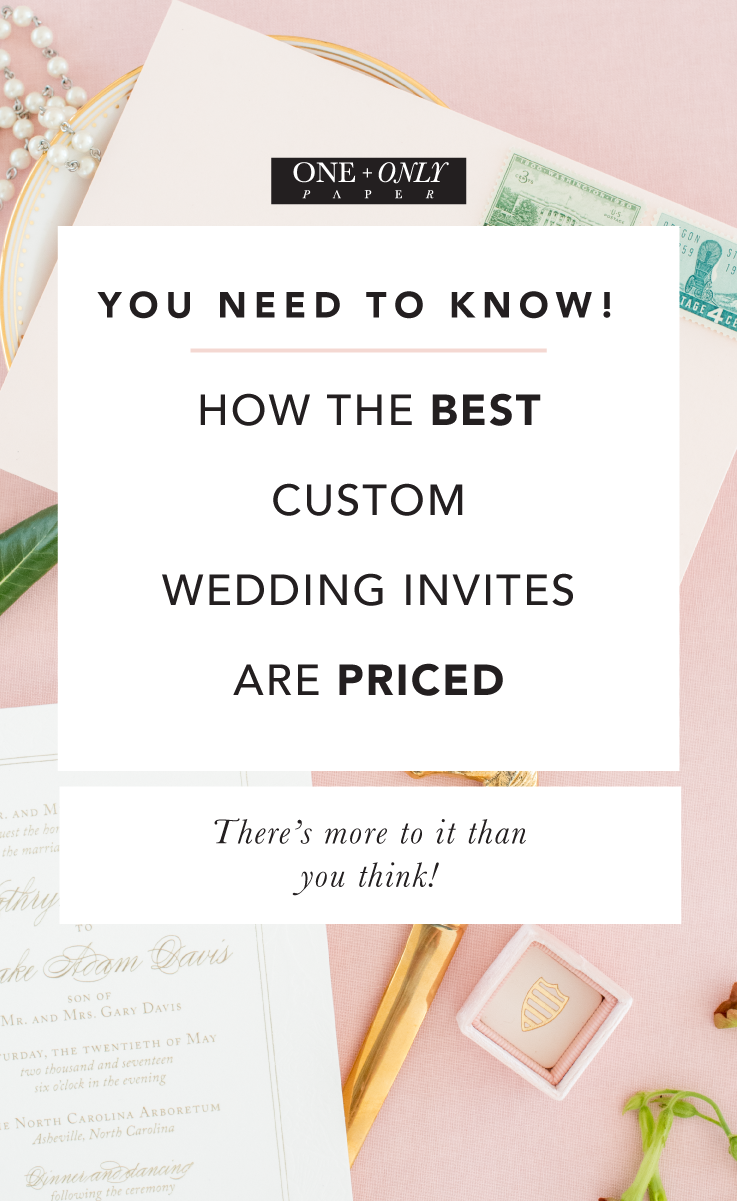 Wondering Why Your Custom Invitations Cost What They Do Click