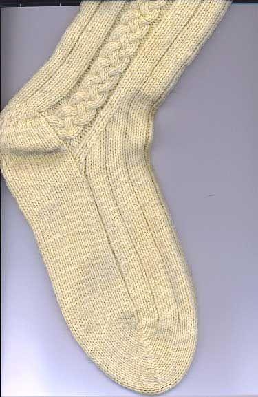 Free Knitting Pattern For Kilt Socks : Free Knitting Pattern: John Andersons Kilt Hose Knit ...