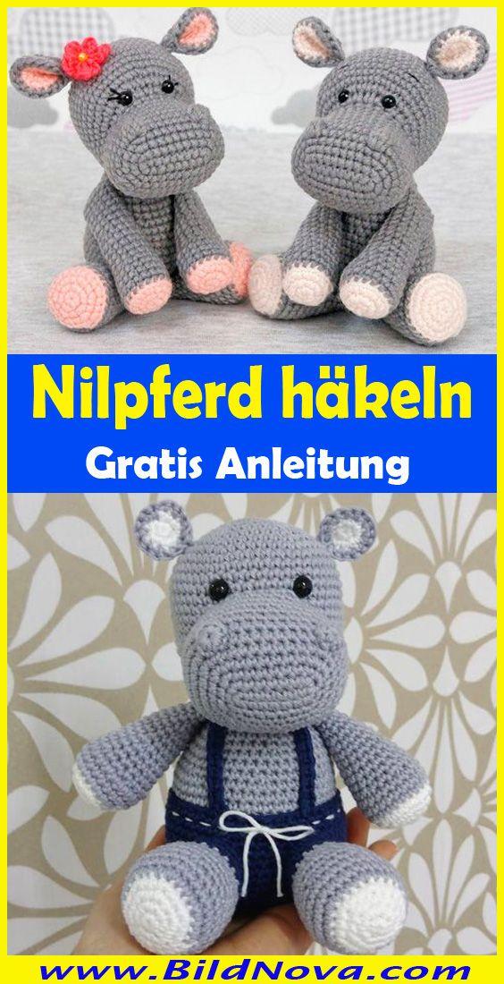 Photo of Häkeln Sie Amigurumi Hippo – einfaches & freies Muster