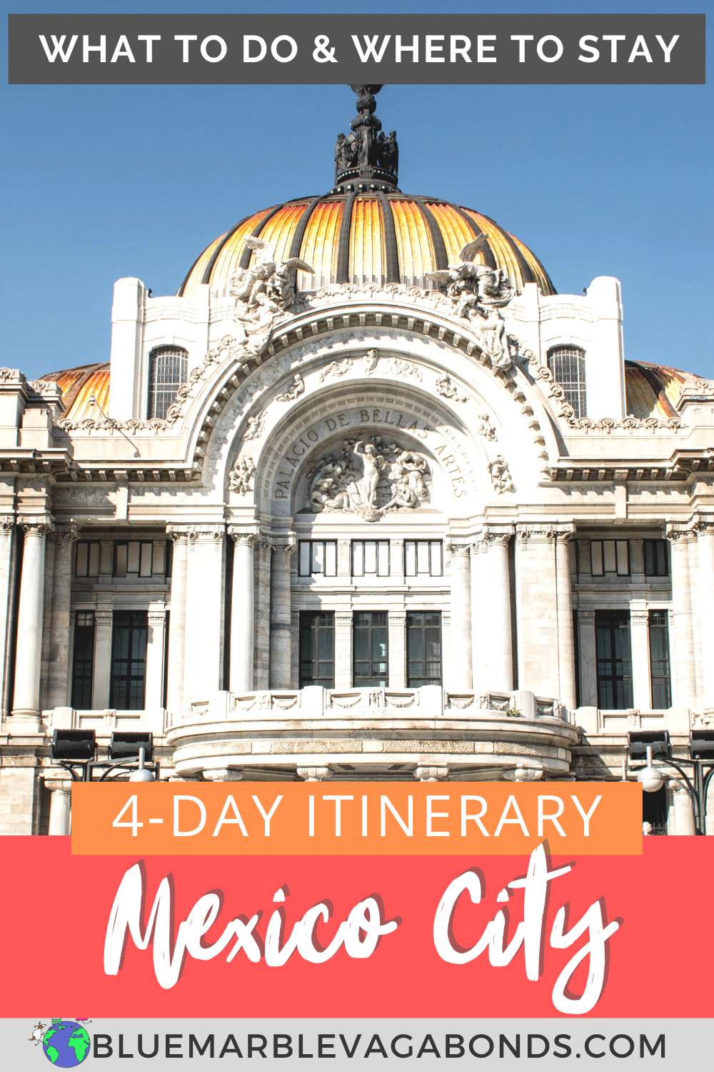 Your 4 Day Mexico City Itinerary In 2020 Mexico City Travel Mexico Travel Mexico Itinerary
