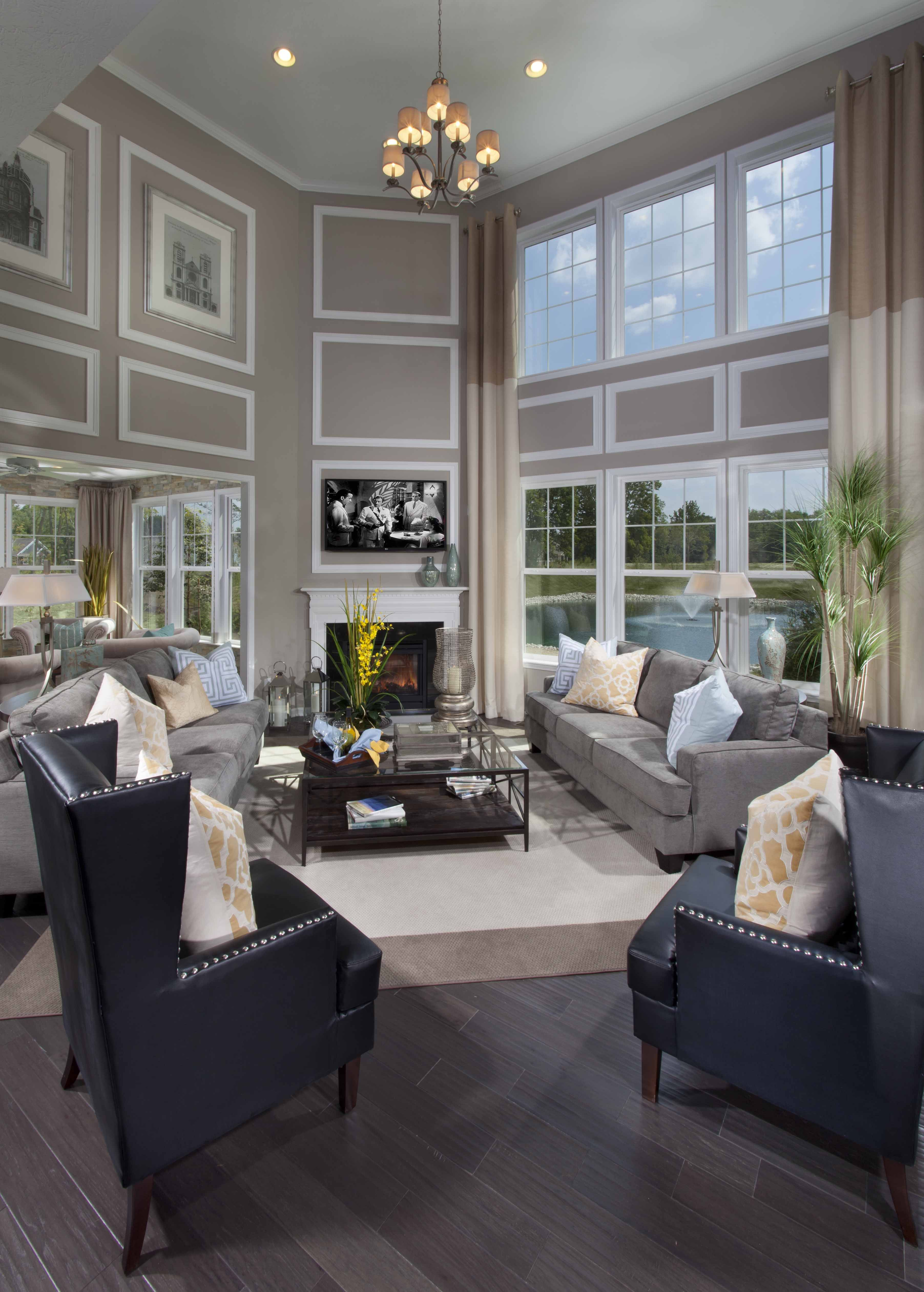 Second Home Decorating Ideas: Southill Model At Blackstone - Great Room …