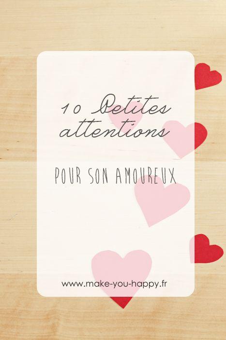 Idée Cadeau Amoureux Homme 10 petites attentions pour son amoureux | Idée cadeau amoureux