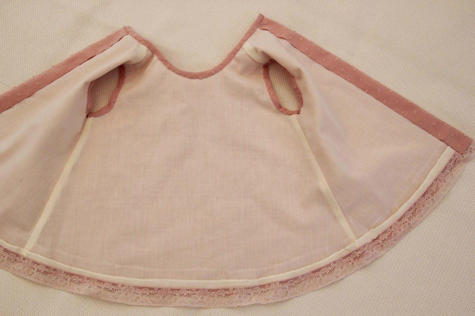 DIY Cómo hacer vestido de niña forrado muy fácil patrones gratis moldes  gratis 92b4c380262
