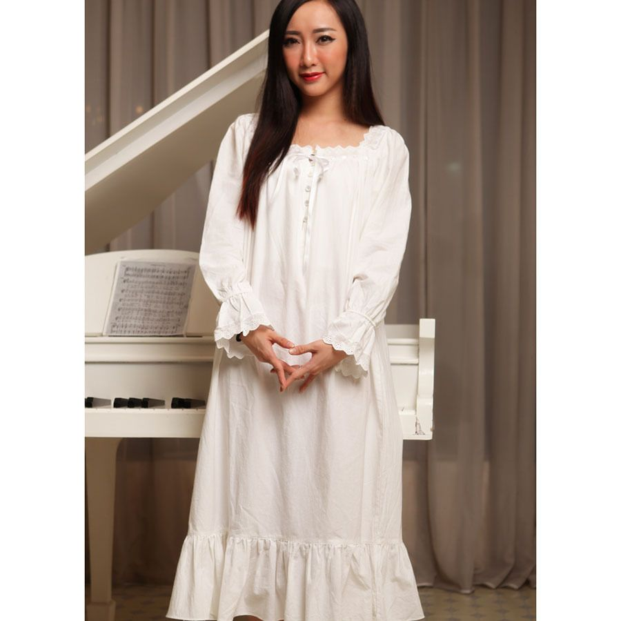 Cheap nightgown white ca88c975a
