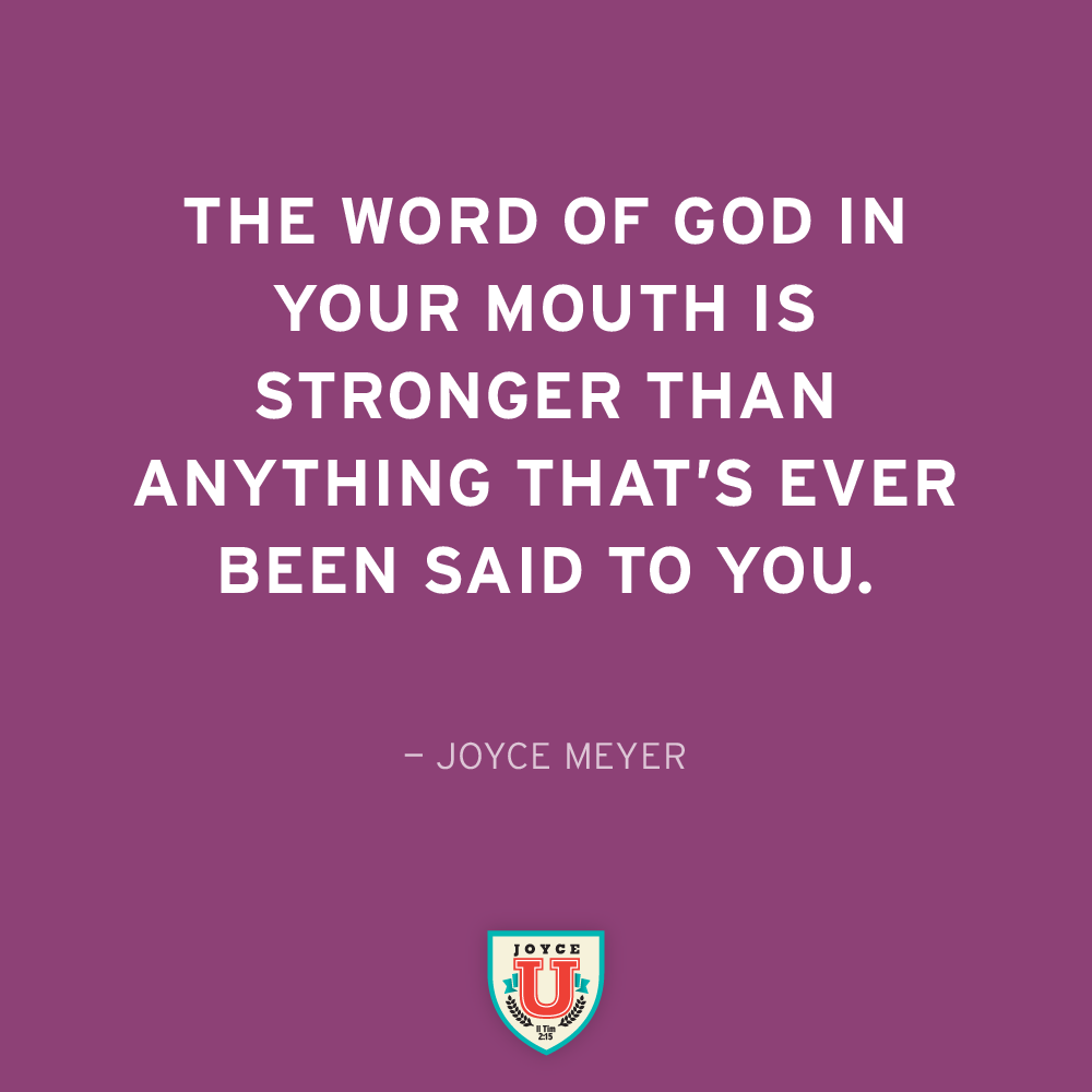 The Power Of Gods Word Is Limitless Joyceu Joyce Meyer Quotes