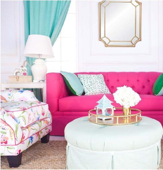 Decorate With Hot Pink In Your Home | Pink paint colors, Hot pink ...