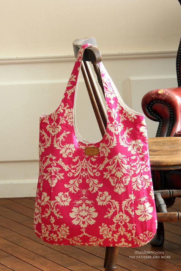 Nevena Bag PDF Pattern | Stitch in Time | Pinterest | Taschen nähen ...
