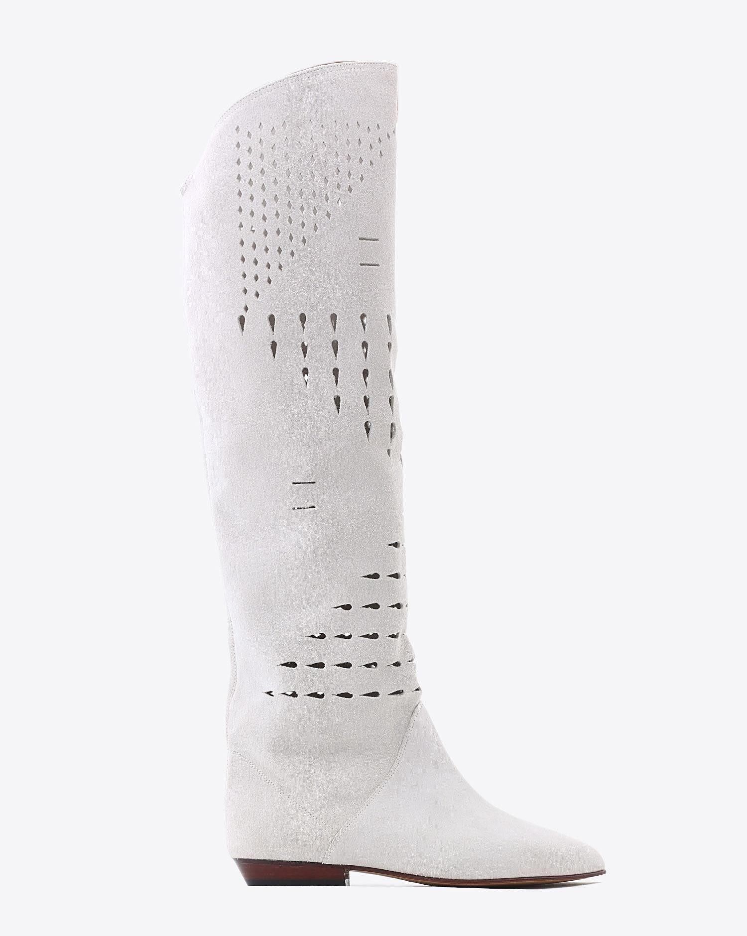 Marant Isabel Bottes Chaussures Défilé SOREN WhiteShop QrdCtsh