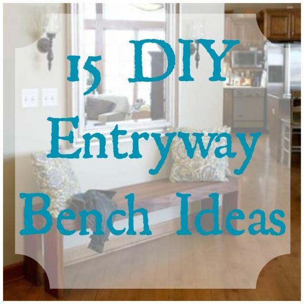 Entryway Bench Ideas #diy #homedecor #entrybench #hallway #livingroom #homedecorinspiration
