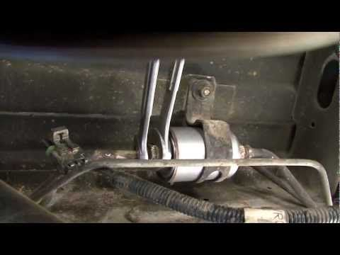 How To Change Your Fuel Filter On Chevy Vans Trucks Youtube Chevy Van Trucks Chevy