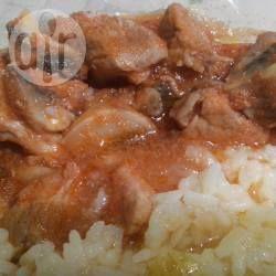 Cerdo enchampiñonado @ allrecipes.com.mx