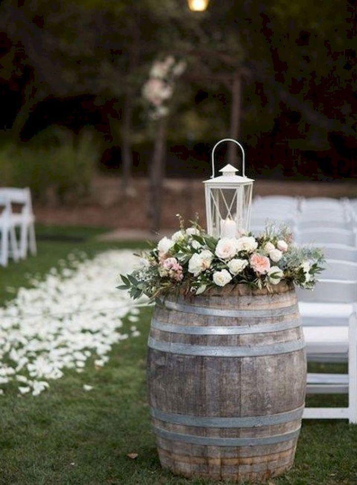 46 Cozy Backyard Wedding Decor Ideas For Summer | Outdoor ...