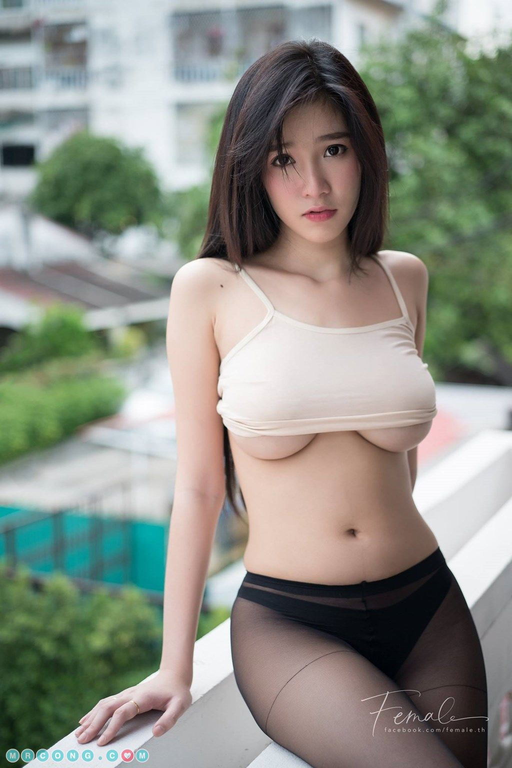 Hot Asian Fashion Model