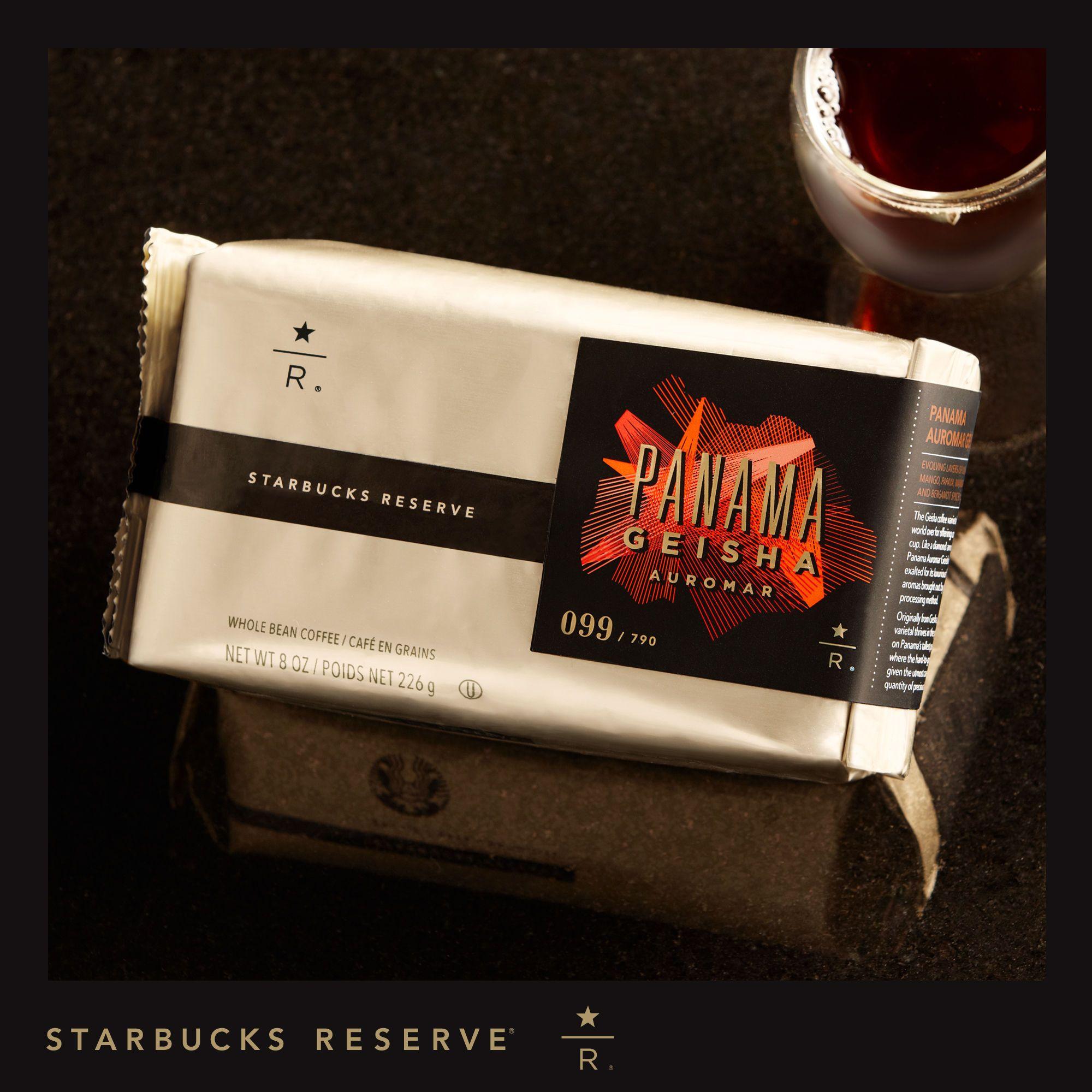 50 Starbucks Reserve Panama Geisha Auromar A Little Something
