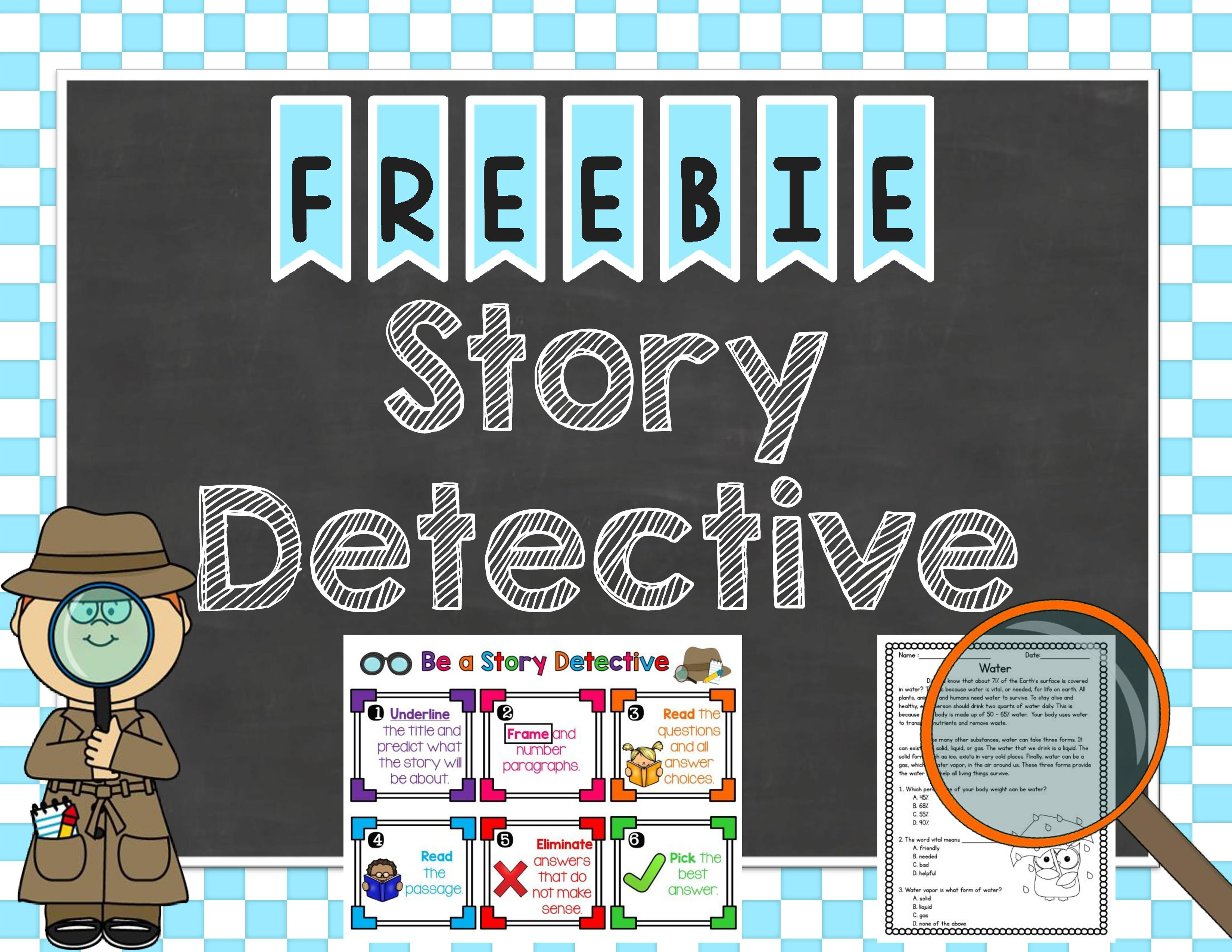 Story Detective A Strategy For Reading Comprehension