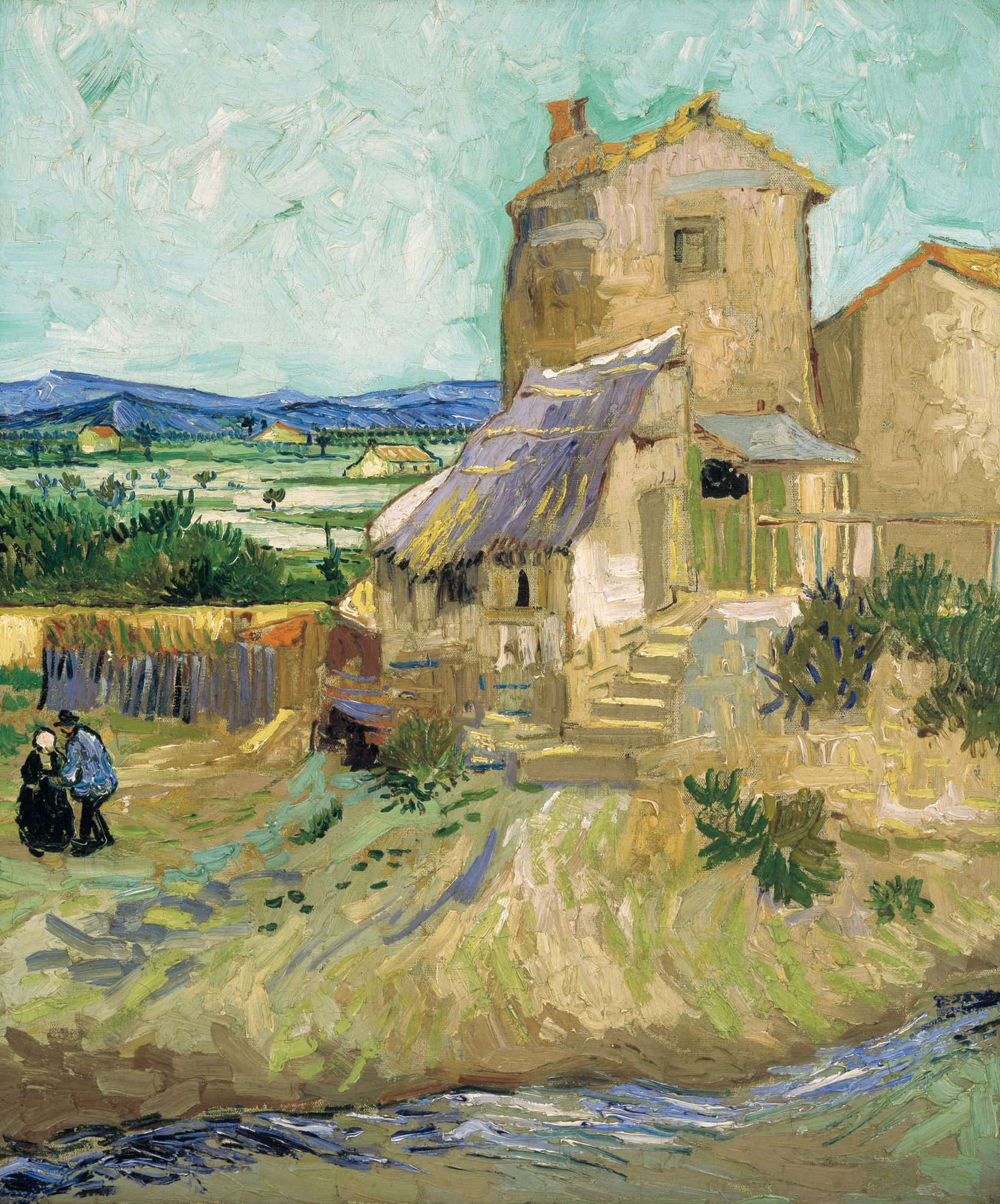 La Camera Da Letto Vincent Van Gogh Vincent Van Gogh The Old Mill Painting V I N C E N T V A N G O G H