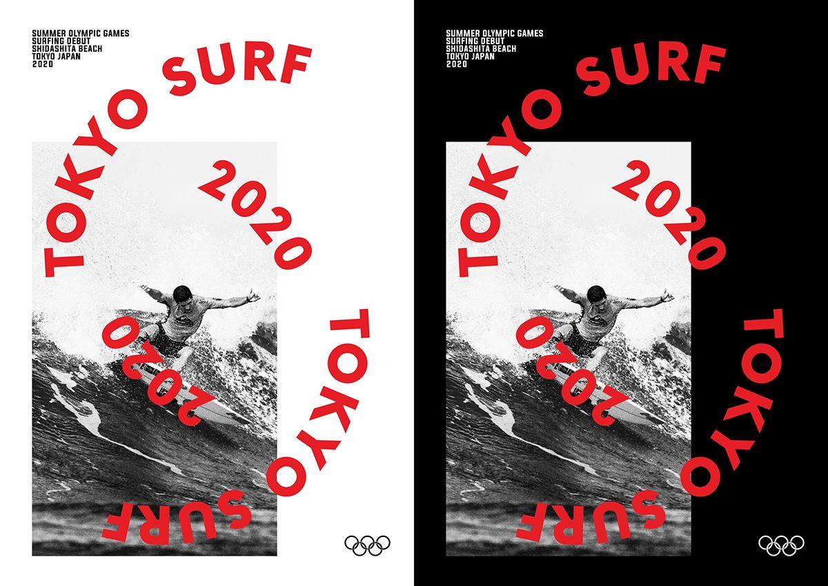 Tokyo Surf 2020 on Behance Japan design, Tokyo, Surfing