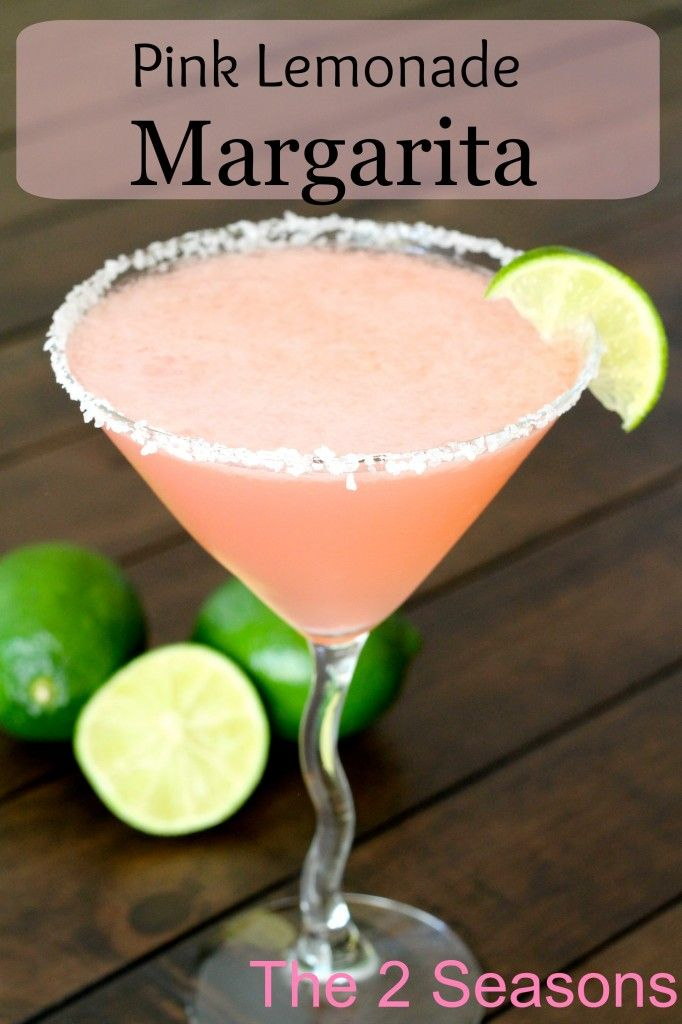 Pink Lemonade Margarita #tequiladrinks