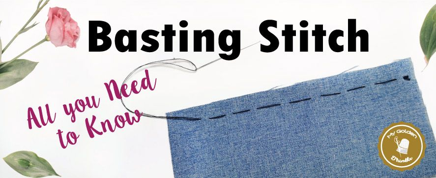 Learn Why and How to do a Basting Stitch! | Sewing machine ...