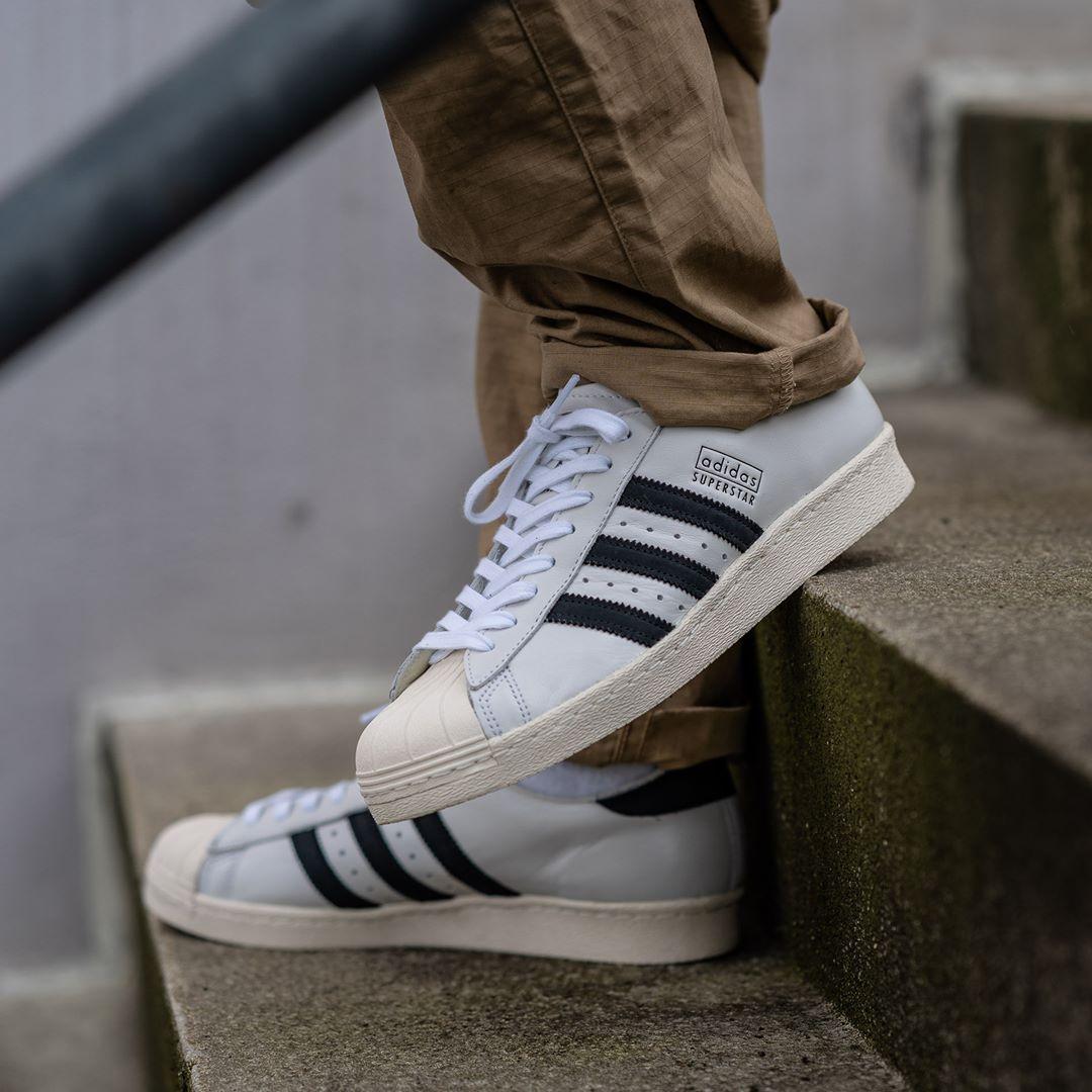 Adidas Originals Superstar 80s Recon In Weiss Ee7396 Everysize Sneaker Trend Adidas Originals Superstar