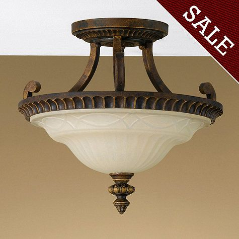 Check out the huge savings on new feiss drawing room semi flush mount walnut at lampsusa