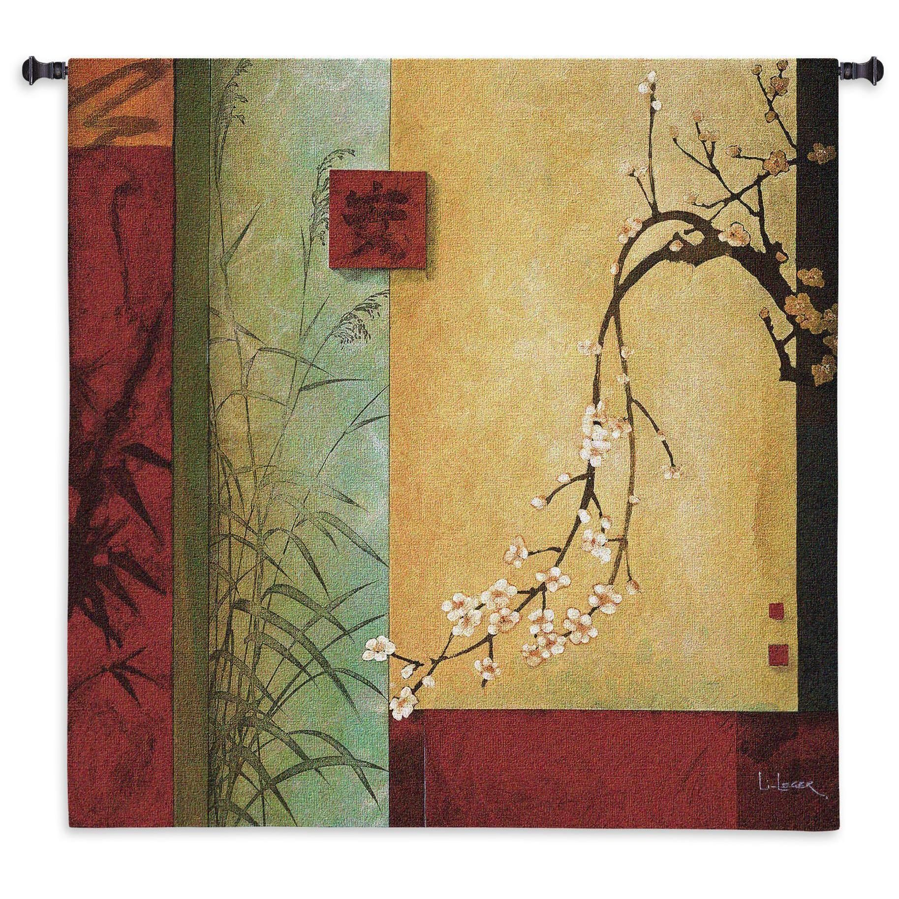 Fine Art Tapestries Spring Chorus Small Cotton Wall Tapestry ...
