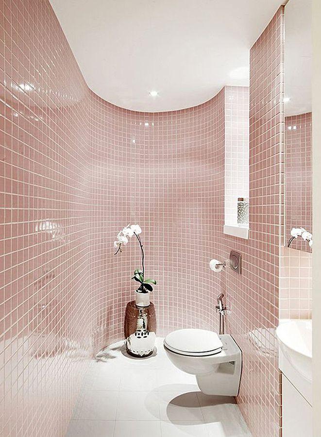 Pink Farbe als Trendfarbe in der Einrichtung - 50 stylische - farbe für badezimmer
