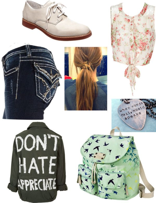 """""""School Day"""" by madisonfire ❤ liked on Polyvore"""
