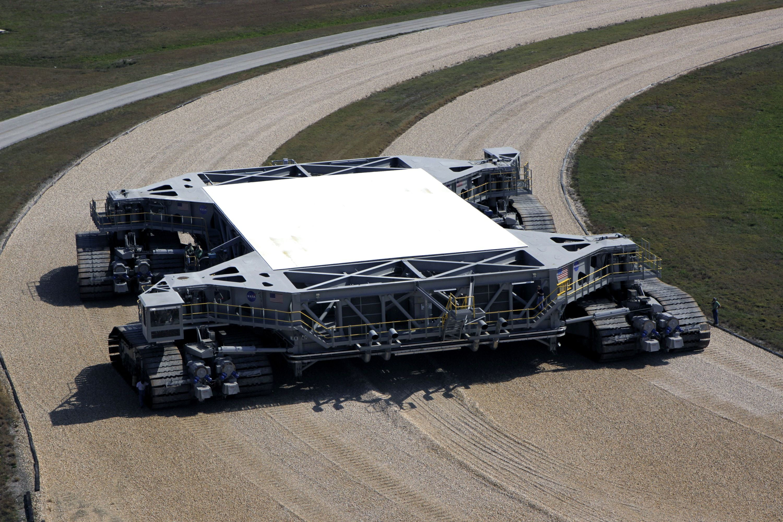 Nasa Crawler Transporter Raumfahrt Raumfahrt Weltraum