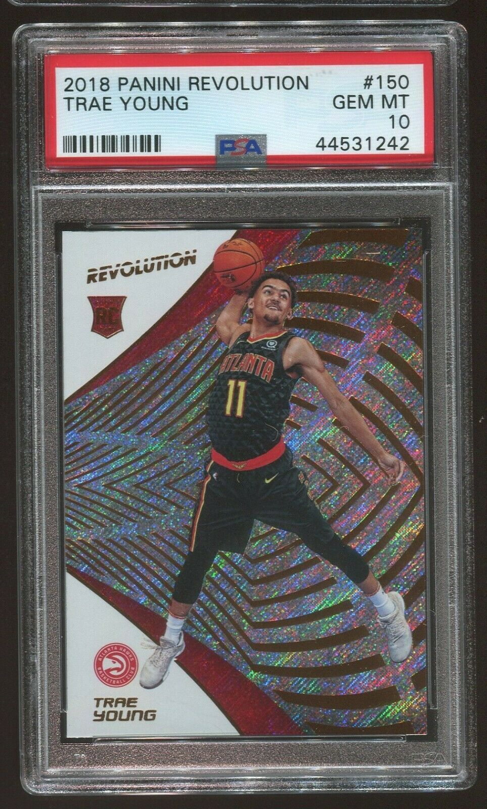 2018 19 Revolution Trae Young Rc 150 Psa 10 Ideas Of Trae Young Traeyoung In 2020 Revolution Mosaic