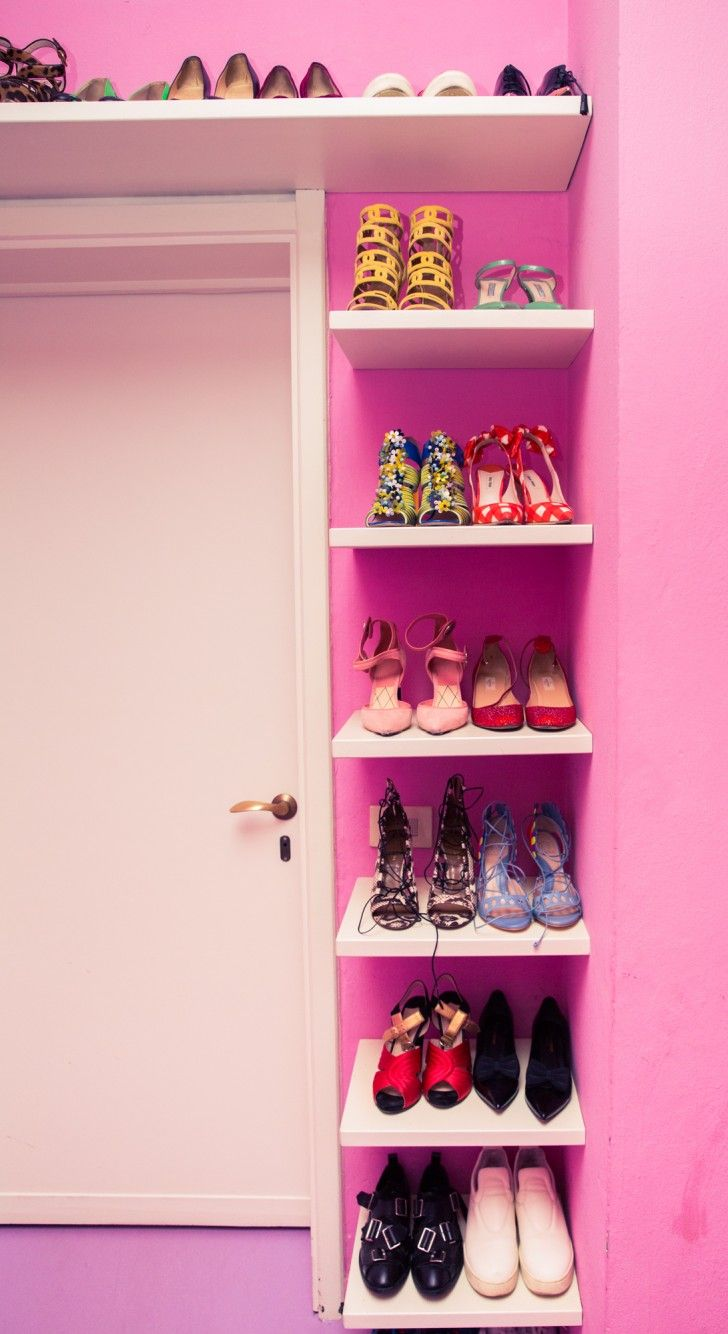 Tamu McPhersons Pink-Walled Closet Is Like an Archive of Old Céline
