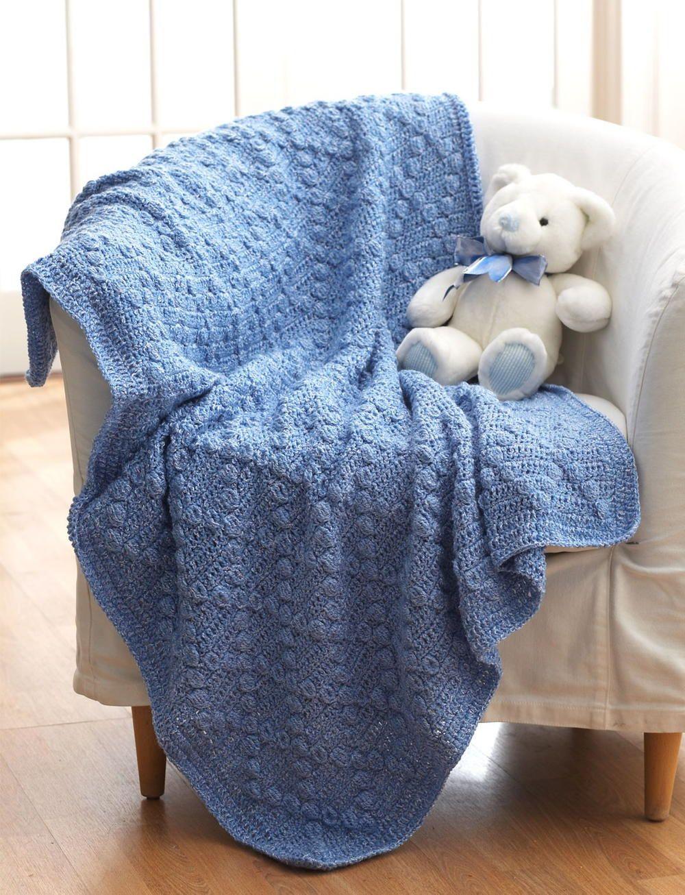 Bumpy Baby Blanket | Kinder nähen, Stricken häkeln und Stricken