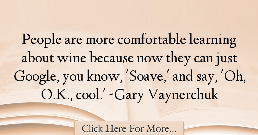 Gary Vaynerchuk Quotes About Cool - 10837